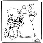 Personnages de bande dessinée - 101 dalmatiens 10