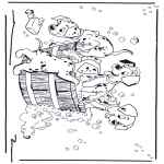 Personnages de bande dessinée - 101 dalmatiens  2