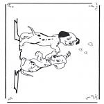 Personnages de bande dessinée - 101 dalmatiens 3
