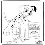 Personnages de bande dessinée - 101 dalmatiens 6