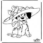 Personnages de bande dessinée - 101 dalmatiens 7