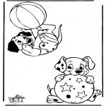 Personnages de bande dessinée - 101 dalmatiens 9