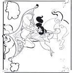 Personnages de bande dessinée - Aladdin 1