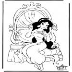 Personnages de bande dessinée - Aladdin 7