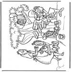 Personnages de bande dessinée - Alice au pays des merveilles 2