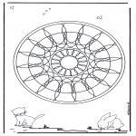 Mandala - Animaux geomandala 4