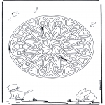 Mandala - Animaux geomandala 6