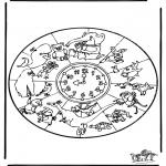 Mandala - Animaux Mandala 1