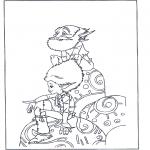 Personnages de bande dessinée - Arthur et les Minimoys 1