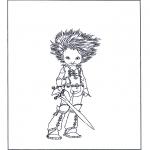 Personnages de bande dessinée - Arthur et les Minimoys 3