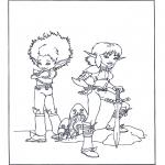 Personnages de bande dessinée - Arthur et les Minimoys 4