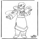 Personnages de bande dessinée - Avatar 2