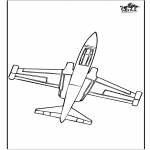Coloriages faits divers - Avion 2