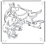 Personnages de bande dessinée - Bambi 1
