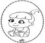 Bébé - Dessin à piquer 2