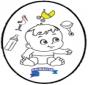 Bébé - Dessin à piquer 3