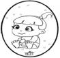 Bébé - Dessin à piquer