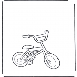 Coloriages faits divers - Bicylclette 2