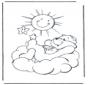 Bisounours soleil