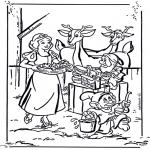 Personnages de bande dessinée - Blanche-Neige 1
