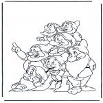 Personnages de bande dessinée - Blanche-Neige 13