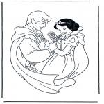 Personnages de bande dessinée - Blanche-Neige 2