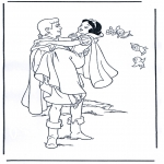 Personnages de bande dessinée - Blanche-Neige 4