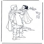 Personnages de bande dessinée - Blanche-Neige 9