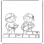 Coloriages pour enfants - Bob le Bricoleur 2