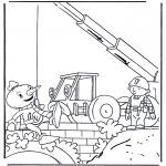 Coloriages pour enfants - Bob le Bricoleur 3