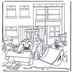 Coloriages pour enfants - Bob le Bricoleur 4