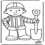 Coloriages pour enfants - Bob le Bricoleur 5