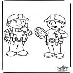 Coloriages pour enfants - Bob le Bricoleur 6