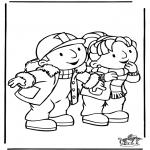 Coloriages pour enfants - Bob le Bricoleur 8