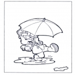 Coloriages pour enfants - Bobo 2