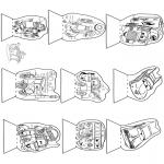 Bricolage coloriages - Boîte à images Cars