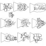 Bricolage coloriages - Boîte à images Pokémon