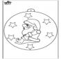 Boule de Noël - Père Noël 2