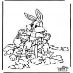 Personnages de bande dessinée - Bugs Bunny 2
