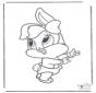 Bugs Bunny bébé