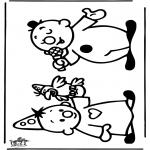 Coloriages pour enfants - Bumba 1