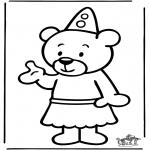 Coloriages pour enfants - Bumba 10