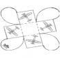 Cadeau carton - Avion