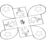 Bricolage coloriages - Cadeau carton - Cendrillon