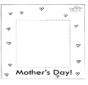 Cadre photo pour la fête des mères