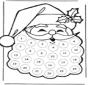 calendrier d'avent père Noël