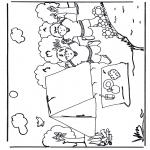 Coloriages faits divers - Camper 2