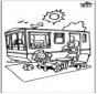 Caravane d'été