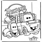 Personnages de bande dessinée - Cars 1