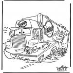 Personnages de bande dessinée - Cars 6
